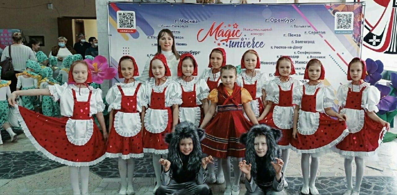Можгинский хореографический ансамбль «Искорки» стал призёром Международного