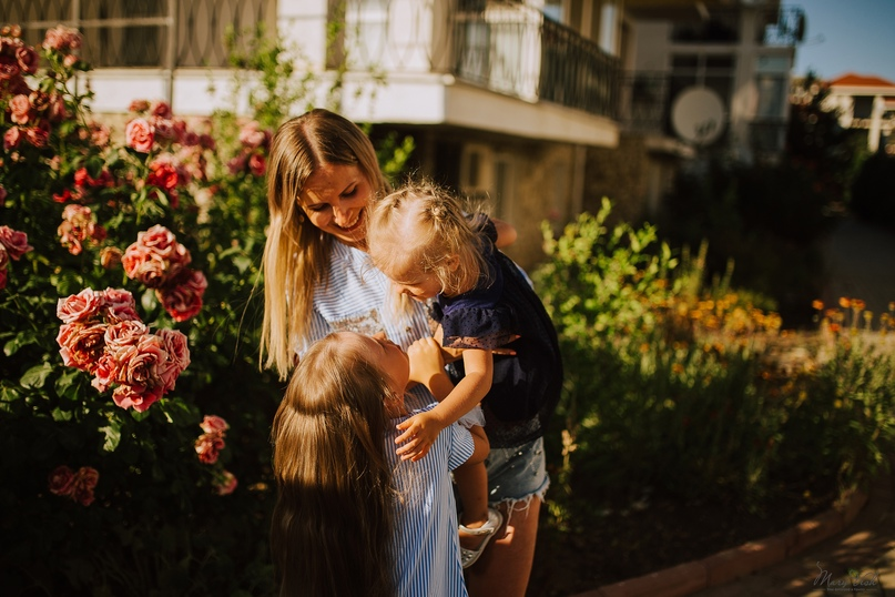 Семейная фотосессия в Коктебеле - Фотограф MaryVish.ru