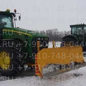 Отвал бульдозерный гидроповоротный для трактора John Deere 8