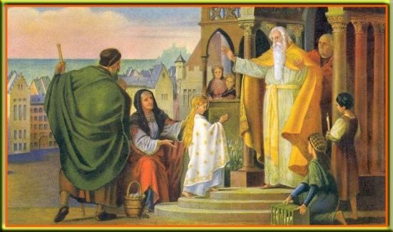 С праздником Введения в Храм Пресвятой Богородицы!