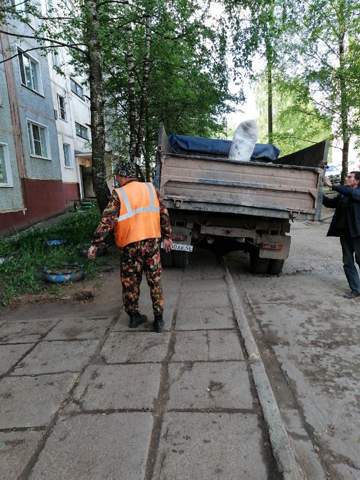 Конева 5 вывоз мусора