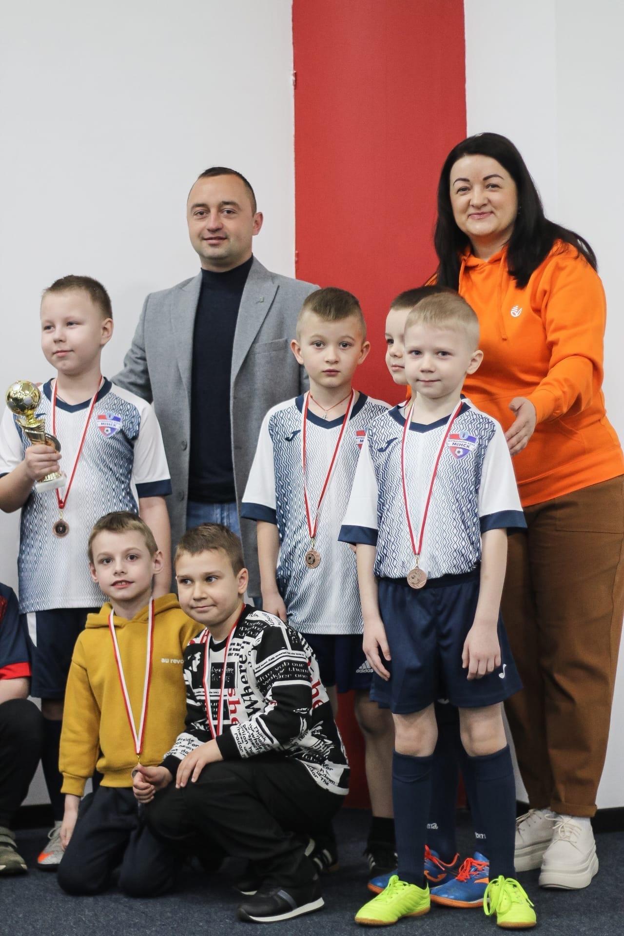 Горожане-2 — Бронзовый призер Утешительного турнира