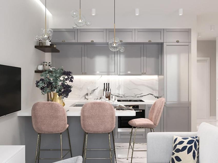 Дизайн-проект квартиры 38 кв.