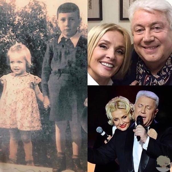 Владимир Винокур показал детское фото с Лаймой Вайкуле