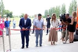 Игорь Артамонов открыл новый спорткомплекс в районе Опытной станции Липецка