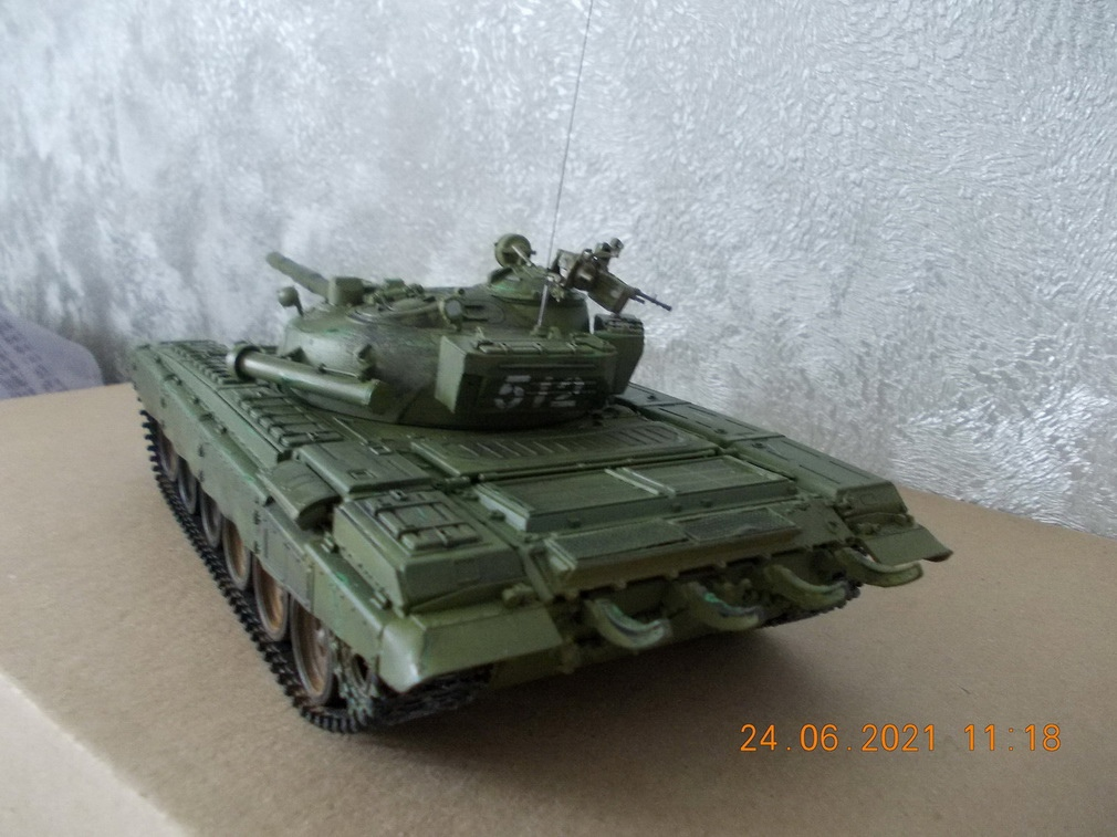 "Т-72М1, 1/35, ""Тамия"", кат.№35160 ZdTaMVMyuPI"