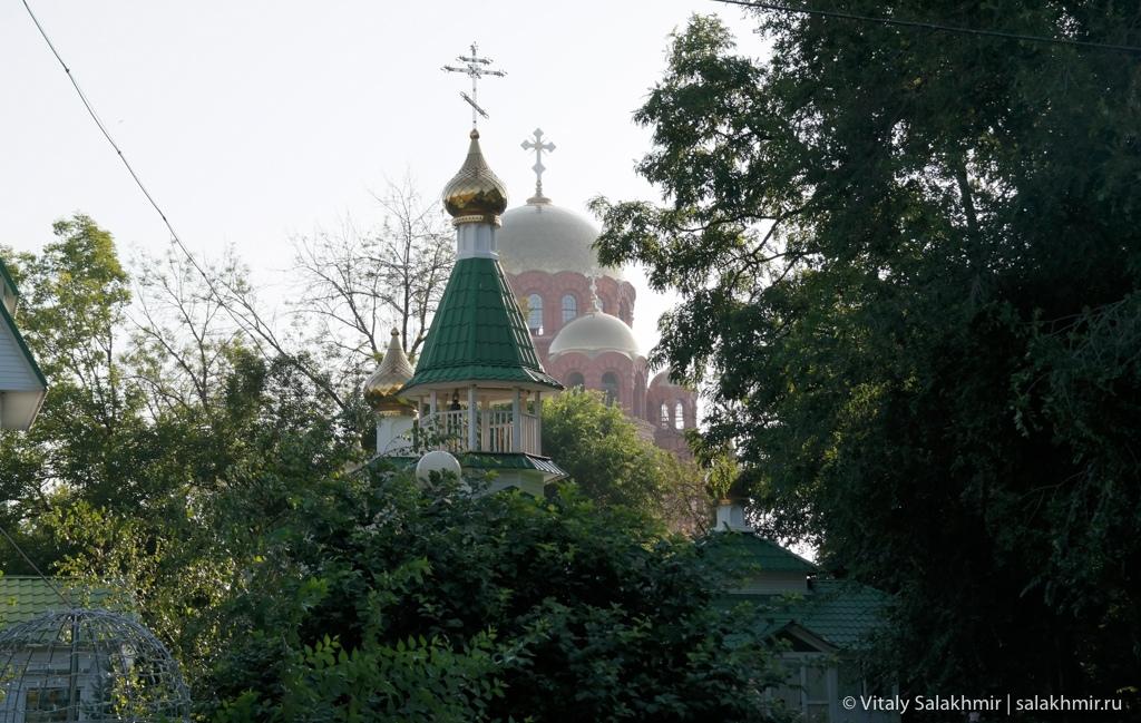 Городской сад Волгограда, путешествие 2020