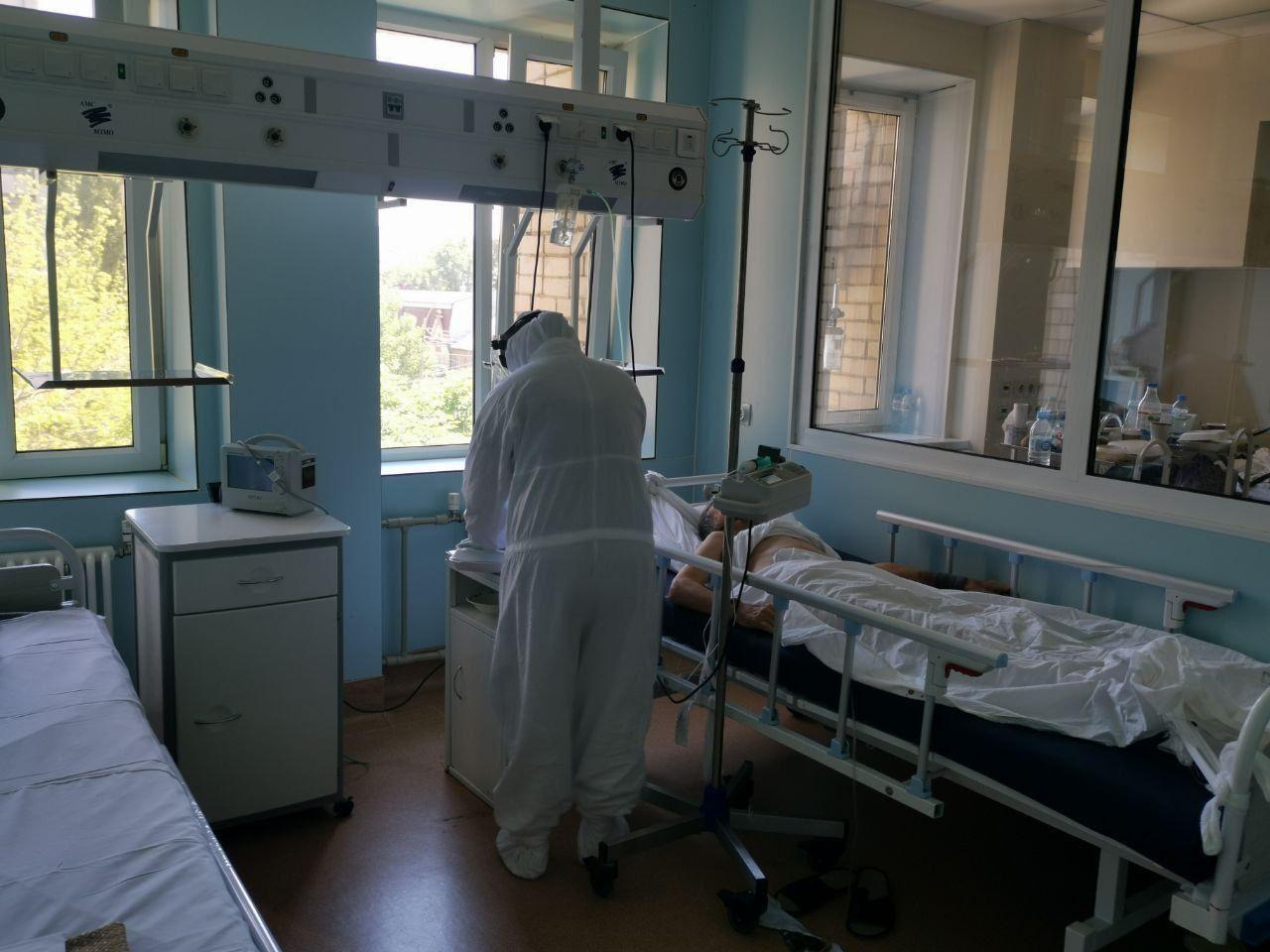 В Саратовской области развернут дополнительные места для больных коронавирусом