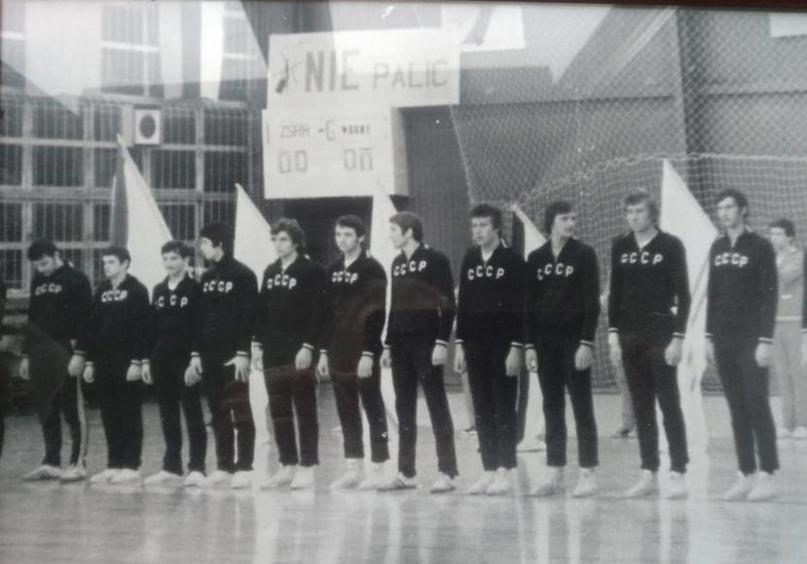 Сборная СССР. Чемпионат мира среди студентов
