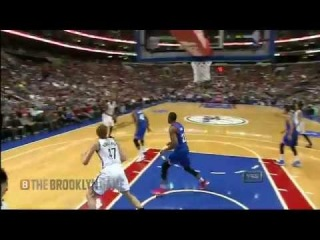 Andray Blatche's No Look Pass leads to AK-47 Dunk