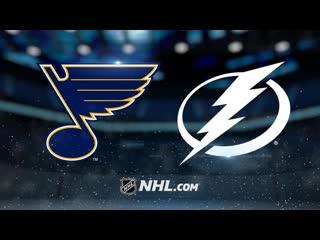 НХЛ | Сент-Луис Блюз и Тампа-Бэй Лайтнинг