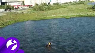 Ямальские учёные завершили второй этап исследований озера Янтарное в Надыме