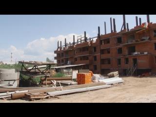 Чиновники проинспектировали ход строительства домов под переселение. август 2017. братск