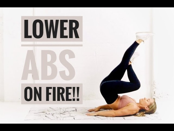 LOWER AB Workout Target Lower BELLY FAT
