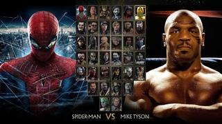 Майк Тайсон против Человека-паука! Мортал комбат 11! Новые гостевые персонажи! Стоп моушен анимация!