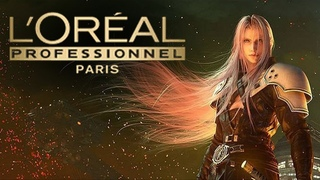 SEPHIROTH L'OREAL HAIR COMMERCIAL