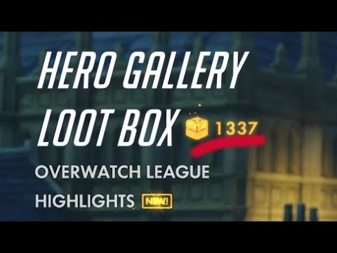 Opening over 1000 Loot Boxes Overwatch