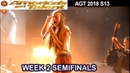 """Courtney Hadwin sings """"Born To Be Wild"""" SIMON LOVES IT Semi-Finals 2 Americas Got Talent 2018 AGT"""