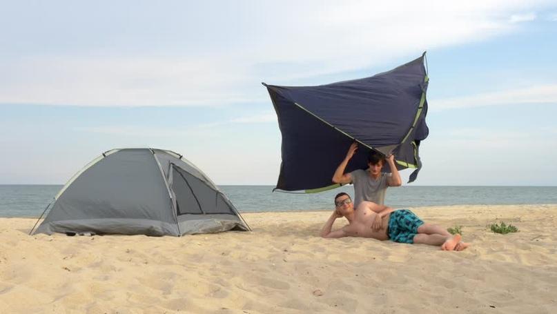 Отдых на Черном море дикарем в палатках: экипировка, что необходимо знать, быт и советы, изображение №4