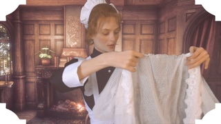 ASMR for Victorian Ladies 👒 Preparing clothes, Dressing you