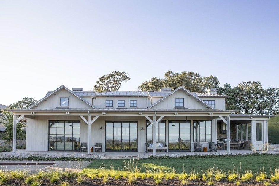 Современное ранчо в долине Сонома по проекту Wade Design Architects