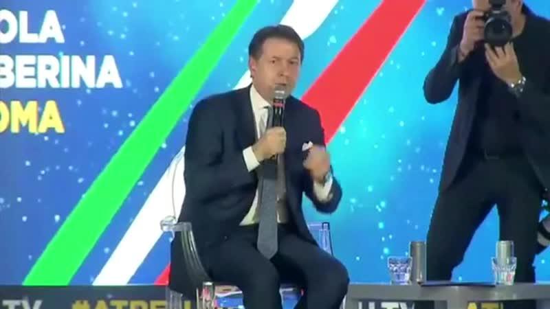 CONTE PERSEVERA E RICONFERMA IL DIALOGO INTERCETTATO TRA LUI E LA MERKEL