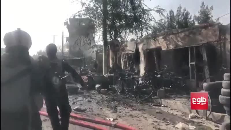Целью взрыва в Кабуле был кортеж вице президента Афганистана Амруллы Салеха