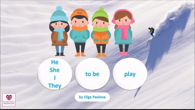 Обзор зимних презентаций для уроков английского языка