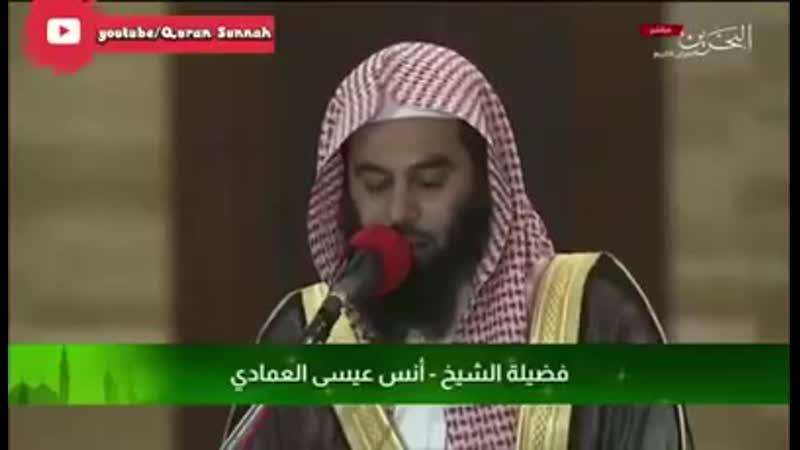 Анас аль Имади Чтение Корана