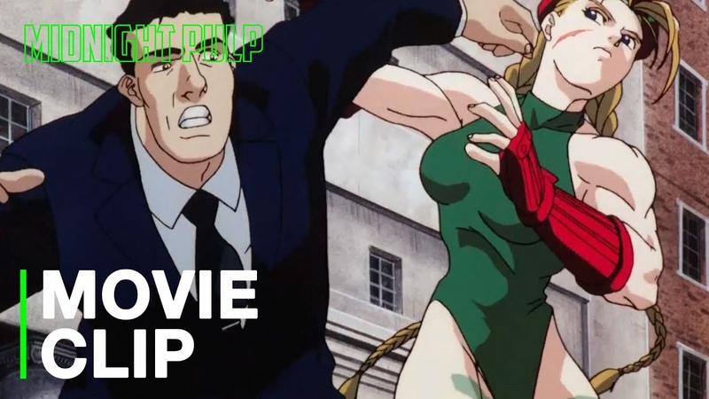 Cammy owns security   [HD] Clip from Street Fighter II The Animated Movie