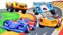 Мультфильм Супер Ралли - Гоночная машина из будущего - Мультики для мальчиков про машинки