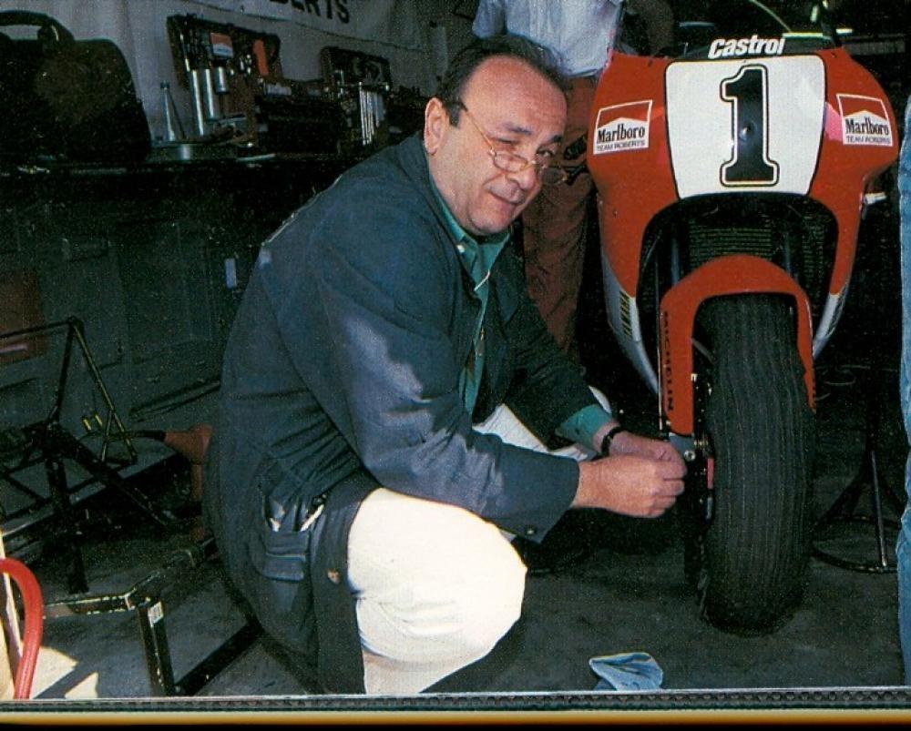 Мастер по мото колесам Роберто Маркезини (Roberto Marchesini) умер
