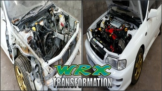 №4 - Subaru Impreza GC8 WRX Complete Transformation Part 4