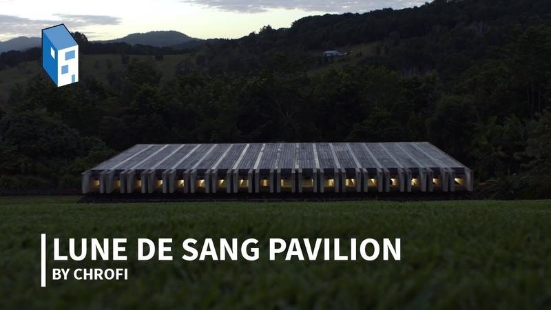 Meet CHROFI's Lune de Sang Pavilion a Pocket of Subtropical Rainforest in Australia