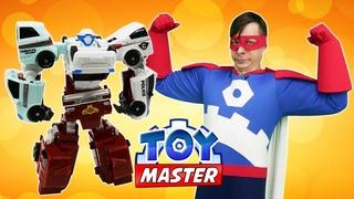 Тоботы и Той Мастер ищут Оружие для Автоботов! - Роботы Трансформеры в видео игры битвы онлайн
