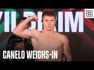 Canelo & Avni Yildirim Hit The Scales & Face Off Ahead Of World Title Clash
