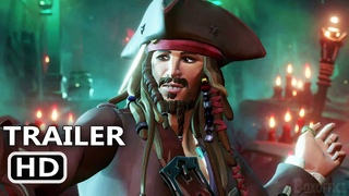 SEA OF THIEVES: A Pirate's Life Trailer (2021) Johnny Depp, Jack Sparrow