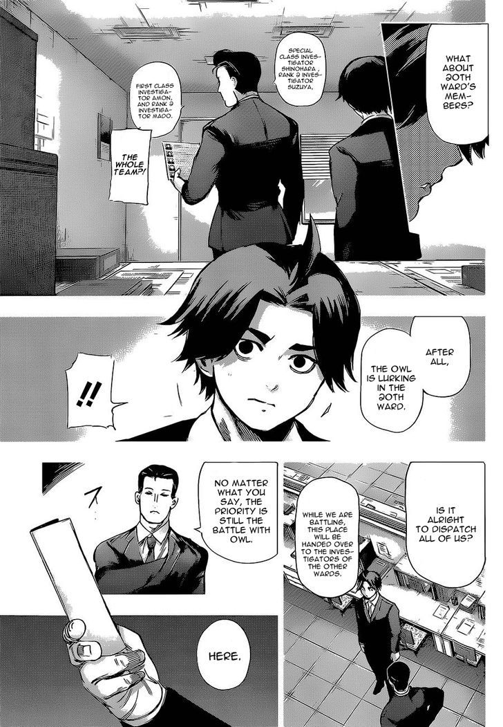 Tokyo Ghoul, Vol.13 Chapter 123 Home Front, image #5