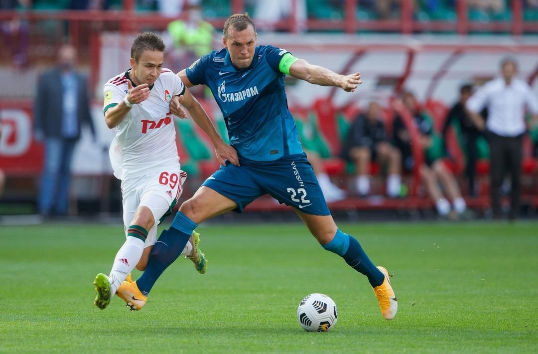 Локомотив - Зенит, 0:0. Артем Дзюба