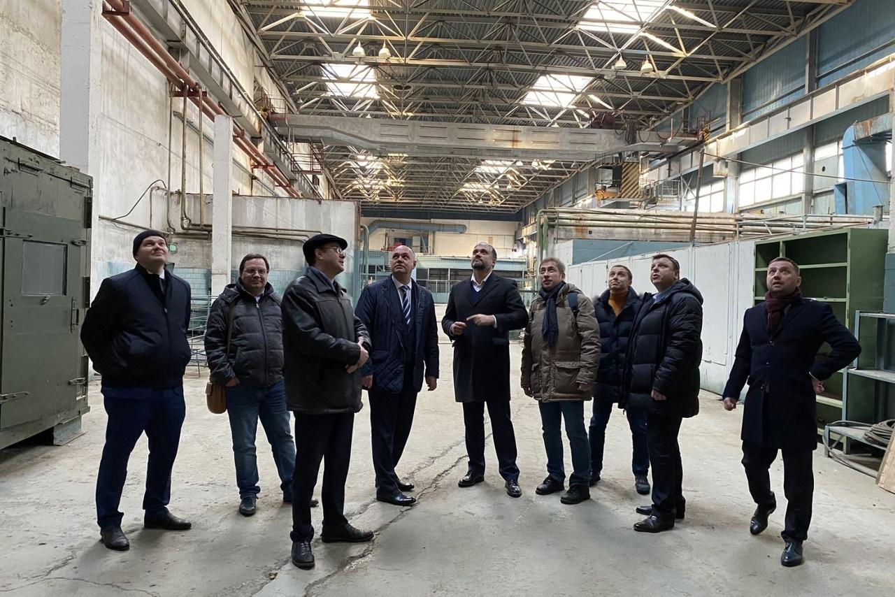 На двух площадках в Таганроге рассматривают возможность создания технопарка высоких технологий