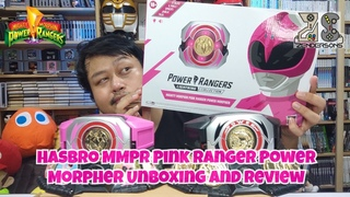 Hasbro MMPR Pink Ranger Power Morpher Unboxing and Review - The Zendersons Show
