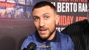 VASYL LOMACHENKO ITS STUPID TO GO TO 140 REACTS TO MIKEY GARCIA'S LOSS TO ERROL SPENCE JR