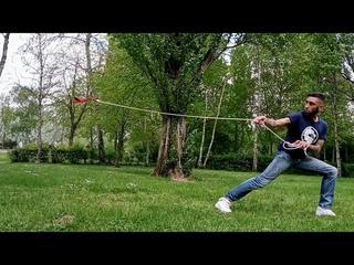 Rope dart / sheng biao training [ prod by Butcherbeats & DjeckDjeck ] get over here !!!
