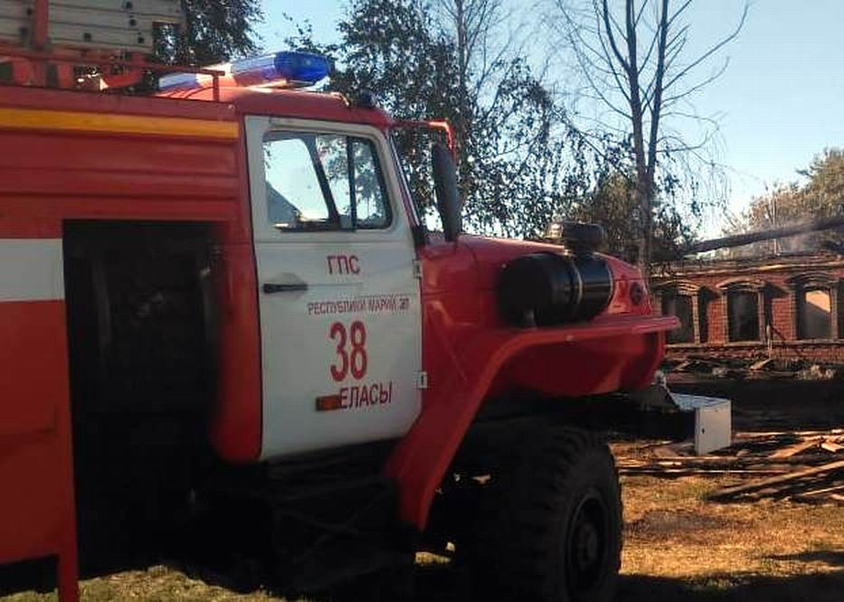 В Марий Эл количество пожаров выросло в 6 раз за неделю