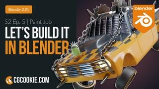 Texturing a Car in Blender  | Let's Build It In Blender - Season 2 Finale