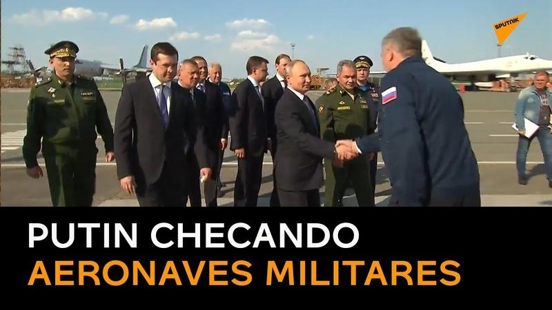 Presidente visita fábrica aeronáutica