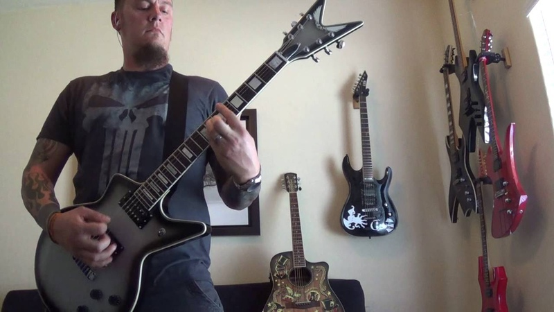 Cradle of Filth Coffin Fodder Guitar Cover