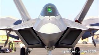 Last F-22 Raptor built ENGINE START-UP