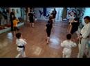 Совместная тренировка: Каратэ Кёкушинкай и Муай Тай дети Yurchenko Dojo