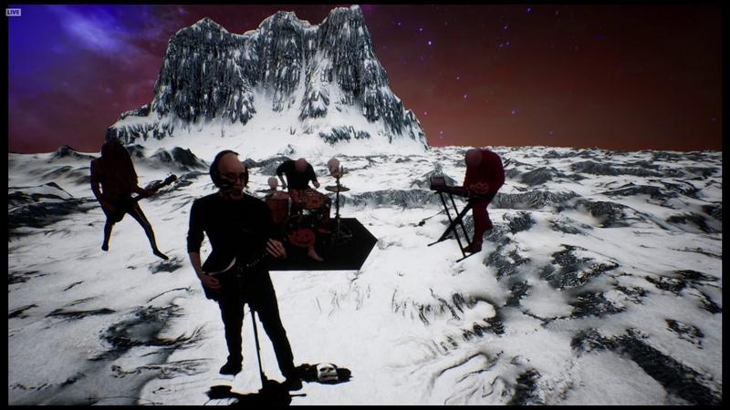 Devin Townsend Planet Rain LIVE Devin's Crappy Halloween Party 2020